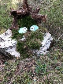 Mötte ett troll i skogen